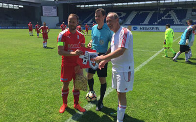 Kickoff of the Swiss Football National Team of Top Chefs